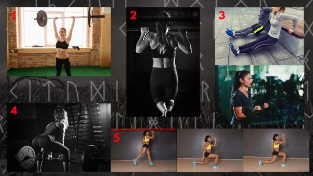 Functional Circuit. Shield-maiden Workout. Warrior Workouts. Super Soldier Project.
