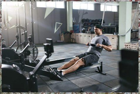 Rowing. Cardio Work. Halls of Valhalla Workout.