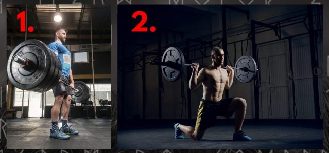 Deadlifts and Barbell Lunges. Thors Hammer Workout. Warrior Workouts. Super Soldier Project.