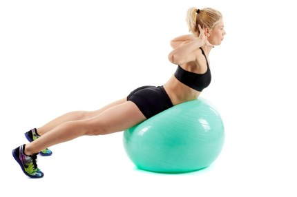 Functional Fitness. Whole Body workouts. BOSU Ball Chest Press. Super Soldier Project.