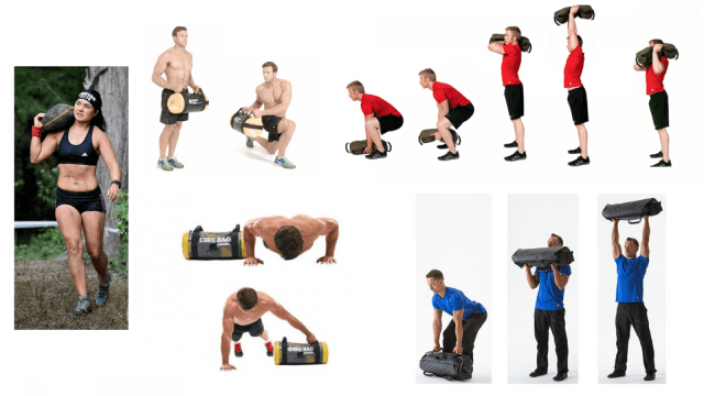 3 Round Sandbag workout. Functional Training Methods. Sandbag Workout. Full Body Workouts. Core Workouts. Super Soldier Project.