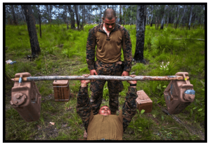 MAKESHIFT GYM EQUIPMENT. Functional Workouts. Train anywhere. Super Soldier Project.