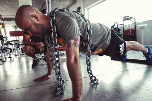 resistance push ups. Train Anywhere. Functional Workout. Resistance training.