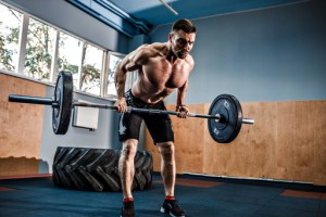 5 Day Split Workout. Barbell Row. Compound exercises. Resistance training.