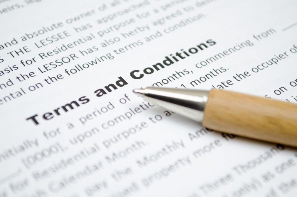 Terms and conditions. Super Soldier Project.