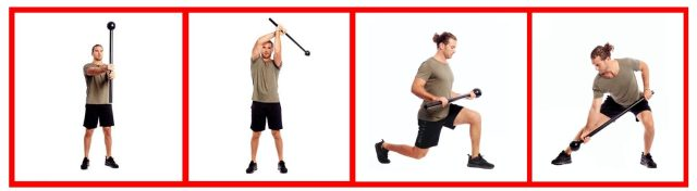 Functional Training Equipment. Whole Body workouts. Macebell Workouts. Super Soldier Project.