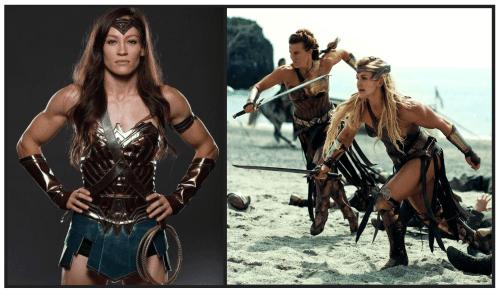 Wonder Woman. Amazon Warrior Workout.Gym Workouts for Women.