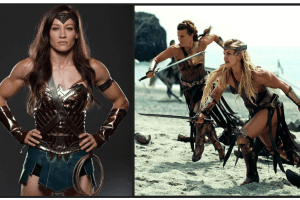Wonder Woman. Amazon Warrior Workout.Gym Workouts for Women.