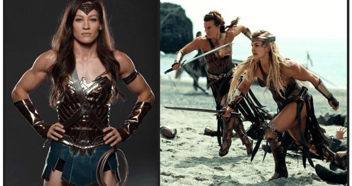 Wonder Woman. Amazon Warrior Workout