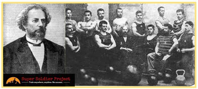 Weightling origins. Vladislav Krayevsky. Kettlebell history