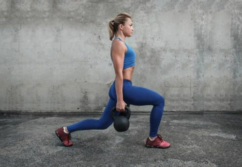 Kettlebell training. Using resistance training and exercises to improve Bone density.