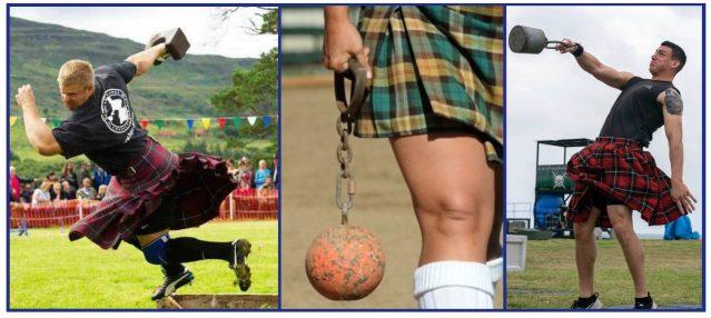 Scottish Kettlebells origin. Highland Games.