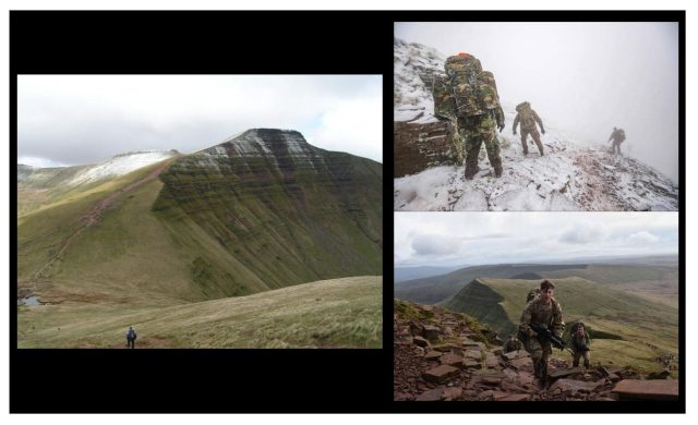SAS selection training. Pen Y Fan. The Fan Dance. Physical Fitness. Endurance training.