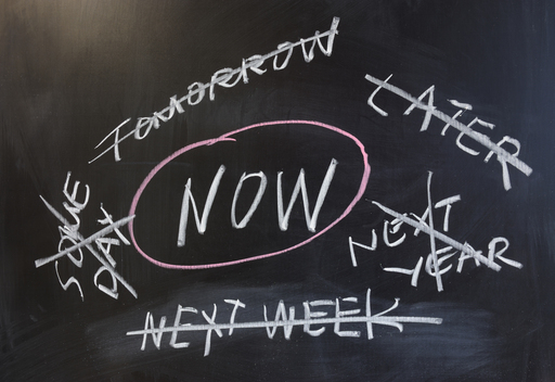 SSP Commandments. Procrastination. No excuses. Do it now.