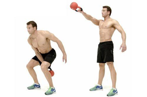 KB swing single Kettlebell Workshop. Kettlebell training. Kettlebell moves. Resistance training. Endurance training. Cardio training.