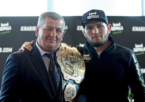 Khabib Nurmagomedov. MMA. UFC. Abdulmanap Nurmagomedov. Khabib's father.