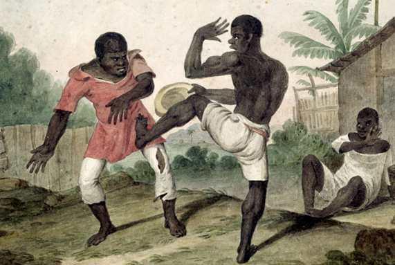 Capoeira. Brazilian Martial Arts.