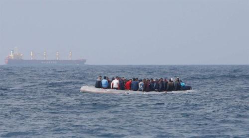 Sea Border crossing. Immigration. Francis Ngannou.