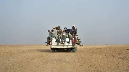 Sahara crossing. Immigration. Francis Ngannou.