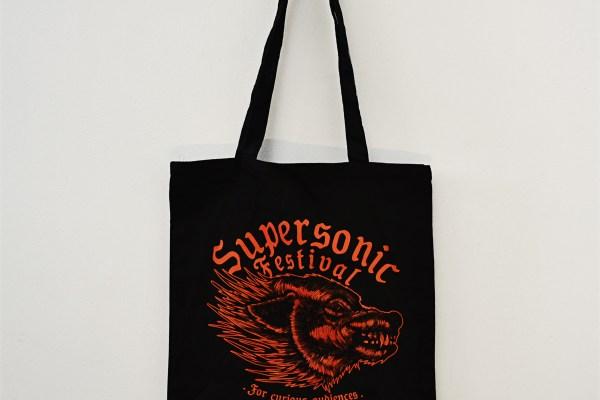 2018 Dennis Mcnett Supersonic Wolf tote bag