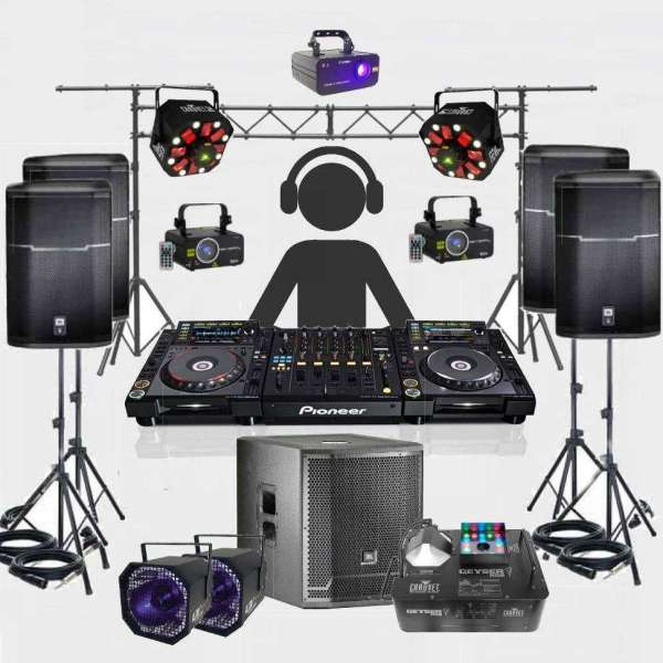 Festival DJ Hire Package