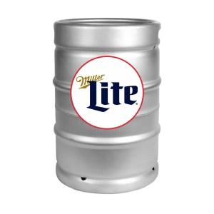 Miller Lite 1/2 Keg