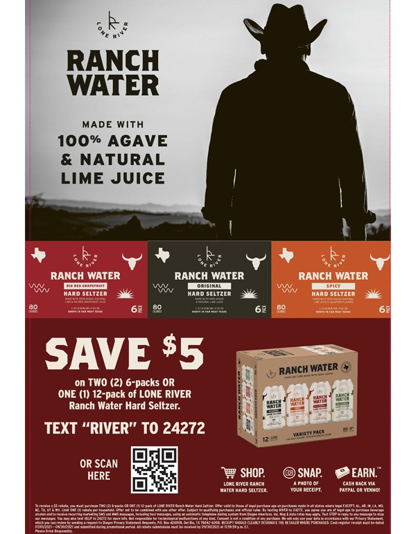 Ranch Water Rebate