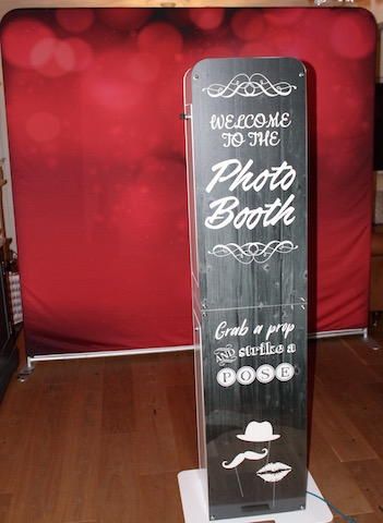 Welcome to the photo booth