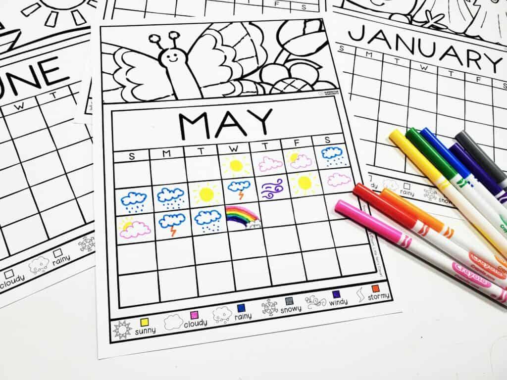 Weather Journal Calendar