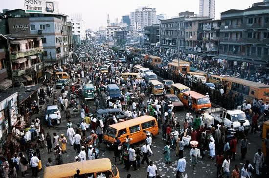 Traffic in Nigeria