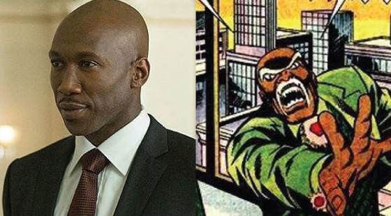 """Cornell """"Cottonmouth"""" Stokes - Actor Mahershala Ali got a taste of the franchise world starring in both halves of The Hunger Games: Mockingjay finale, but now he is going to be an important player in the Marvel Cinematic Universe with a key role in Luke Cage. In September 2015 it was officially announced by Marvel that Ali has been cast to play Cornell """"Cottonmouth"""" Stokes in the upcoming show."""