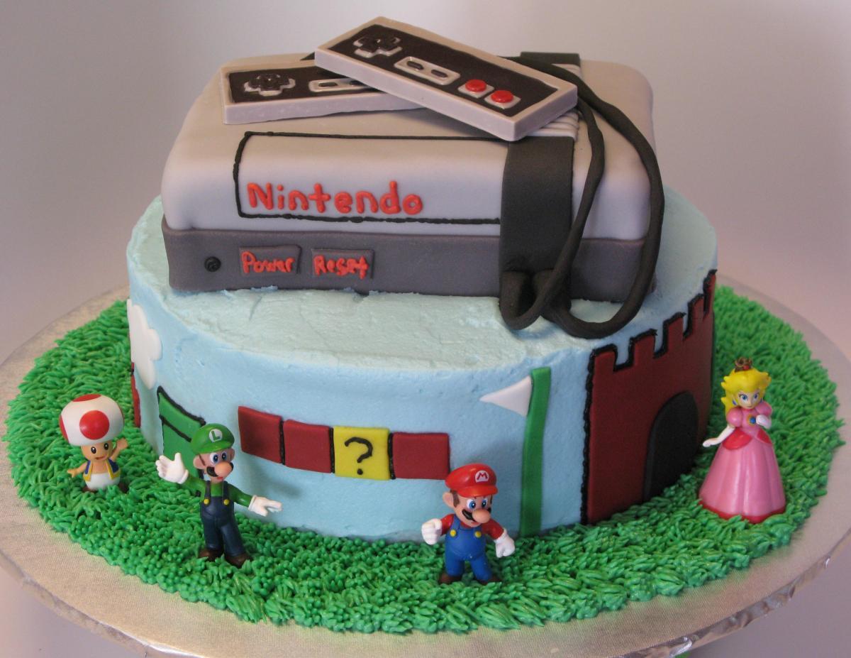 Nintendo Super Mario Brothers Cake