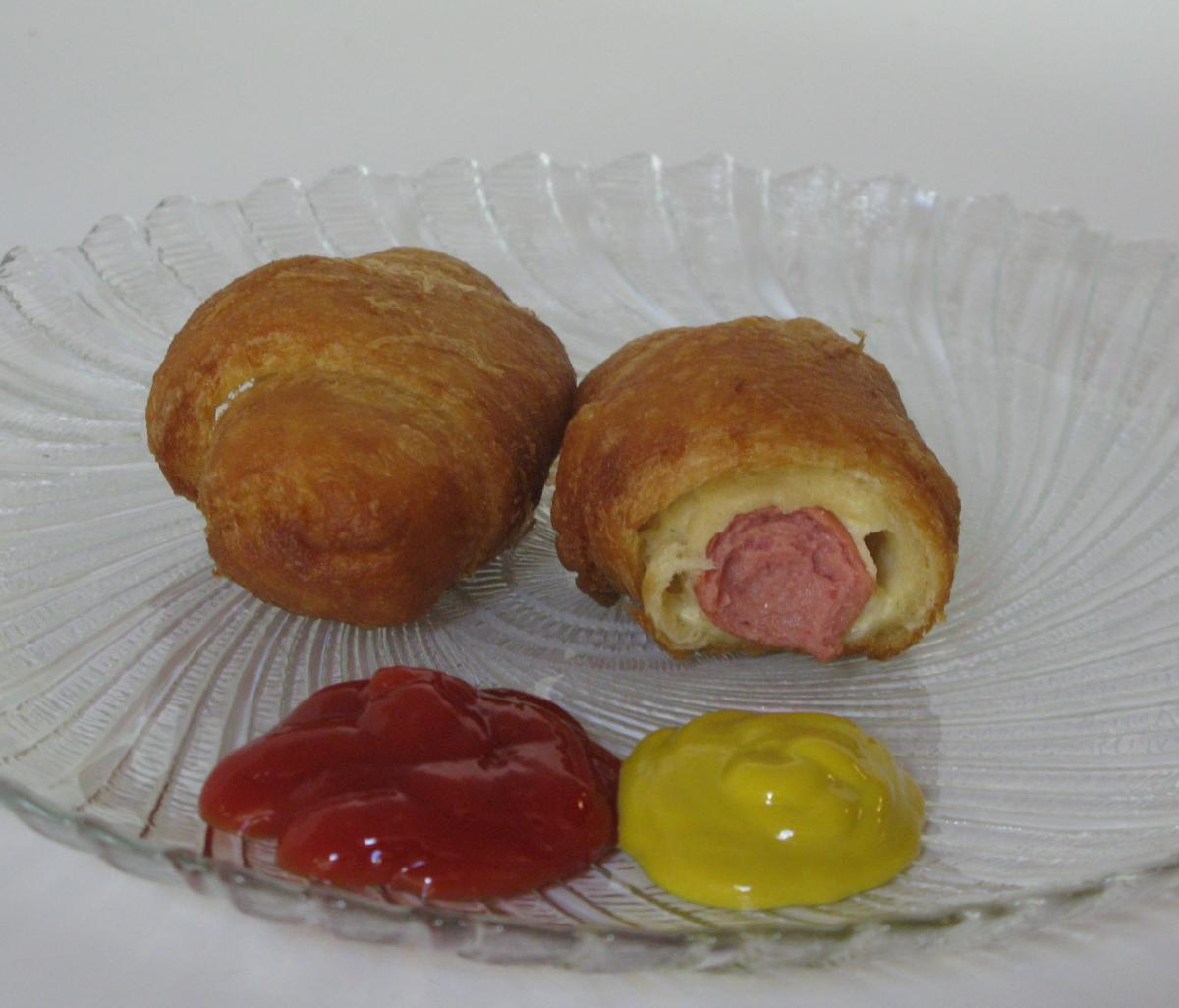 Mini Crescent Roll Corn Dogs