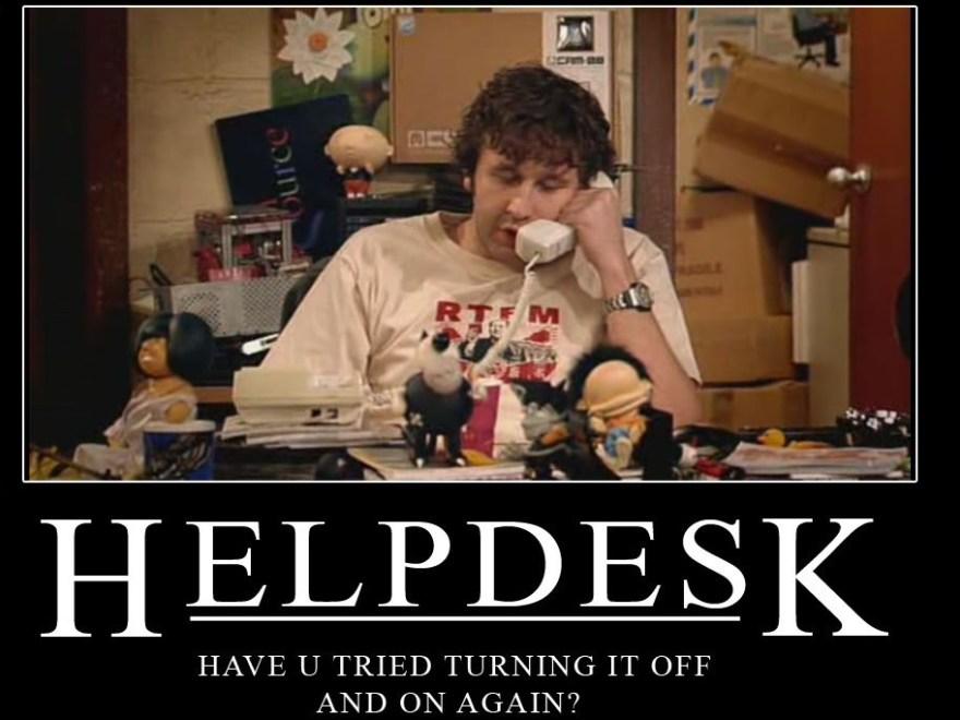 Helpdesk funny