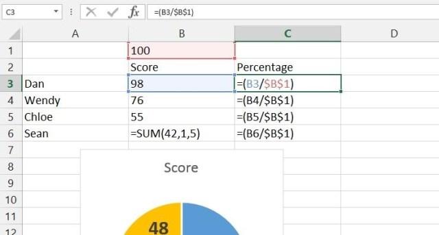 Excel prevent shift