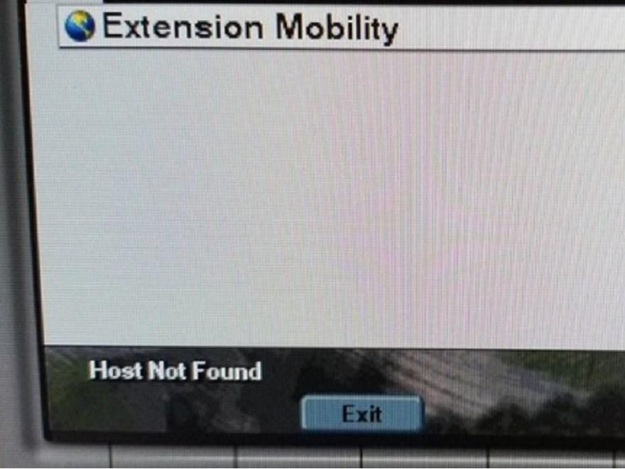Host Not Found