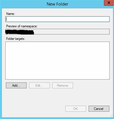 DFS folder