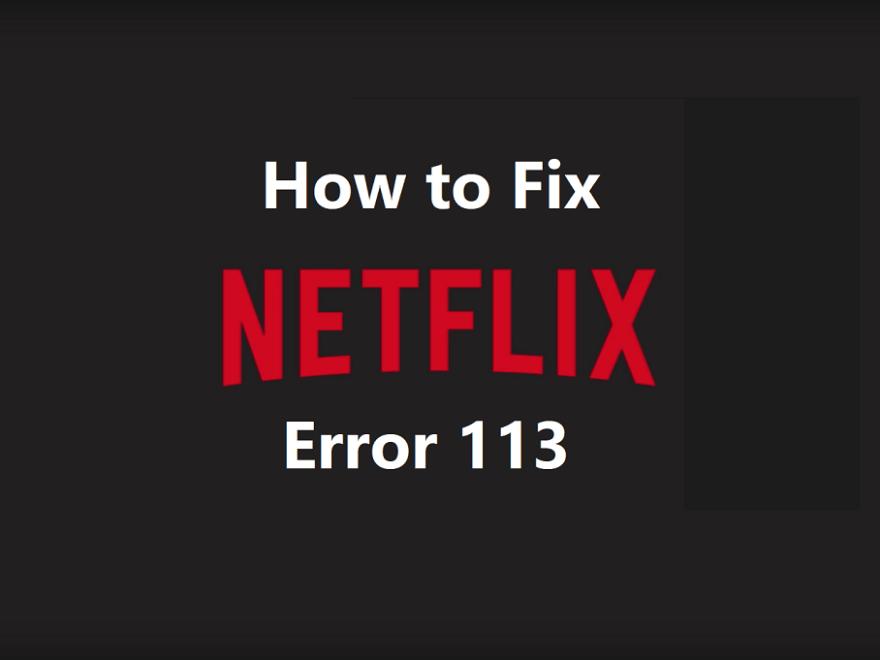 Netflix error 113
