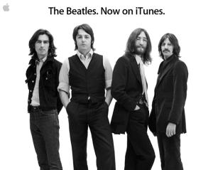 Beatles no iTunes