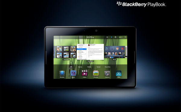 Blackberry Playbook já à venda nos EUA e Canadá