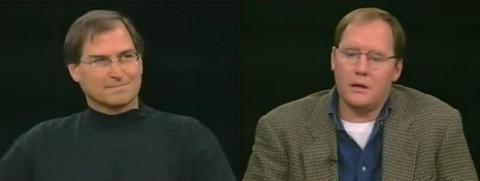 Pixar: Charlie Rose entrevista Steve Jobs e John Lasseter (1996) [Video]