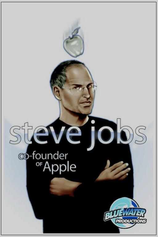 Biografia de Steve Jobs em banda desenhada