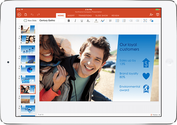 Microsoft disponibiliza Office para iPAD [VIDEO]