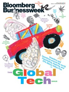 Business Week-Larry Page-Flying Cars
