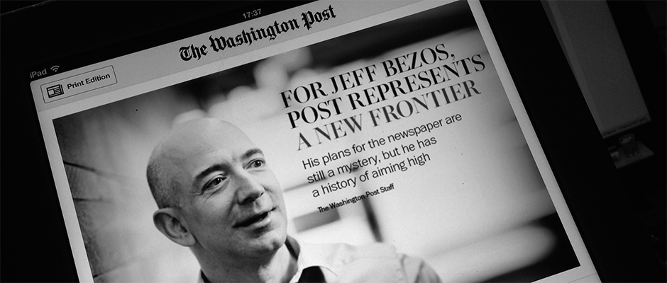 "Os Media precisam de mais ""Jeff Bezos"""