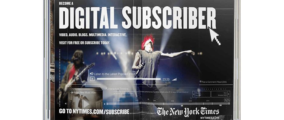 New York Times aposta no modelo de subscrições digitais