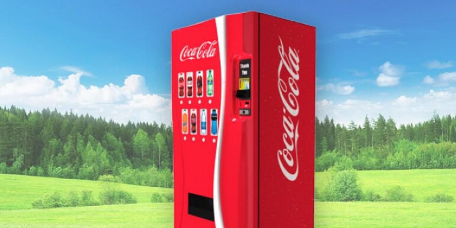 Coca-Cola: inteligência artificial nas vending machines