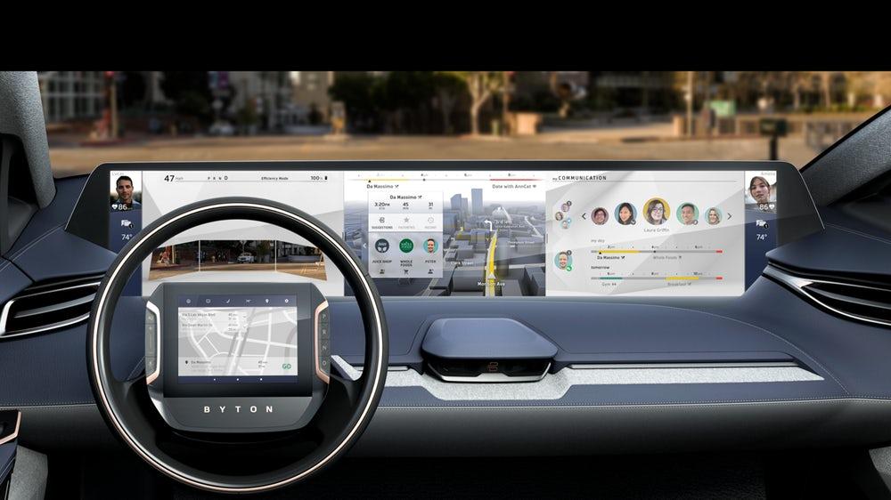 Byton, um novo fabricante automóvel