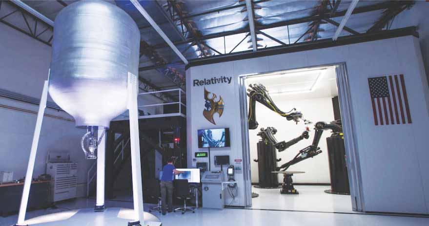 Relativity Space: construção de foguetões impressos em 3D