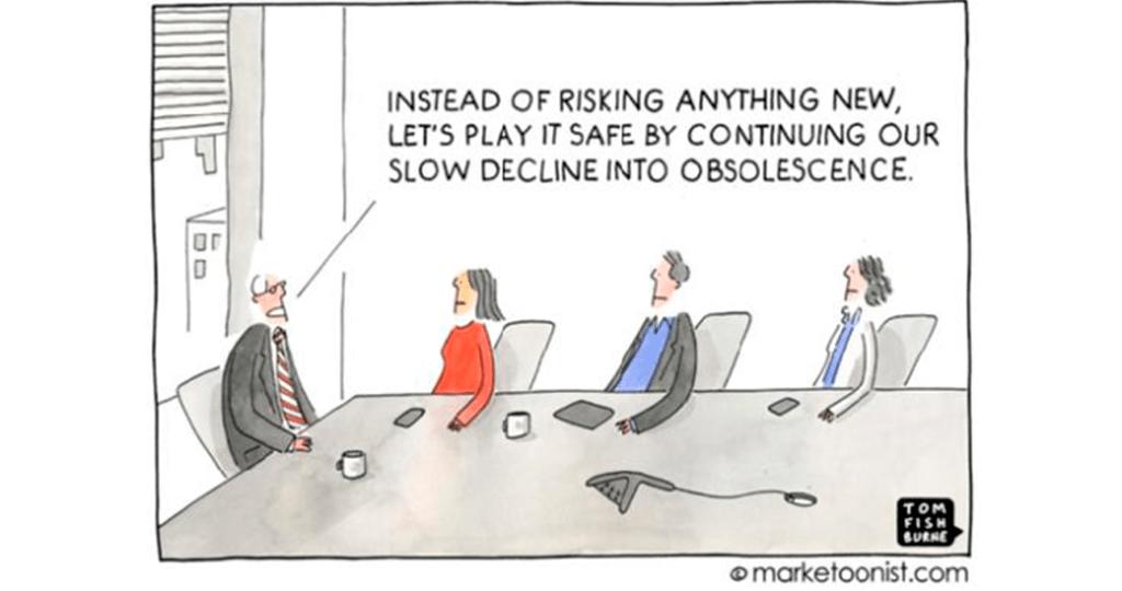"""A arrogância é a """"fogueira"""" da inovação"""